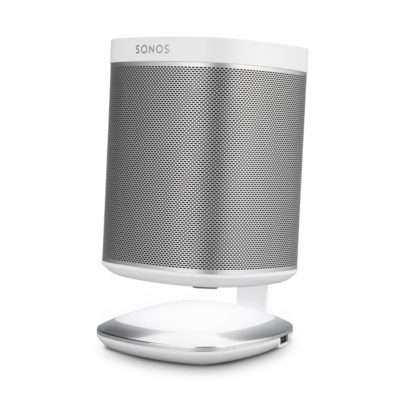 Flexson illumination stand for sonos play:1 white front side product image