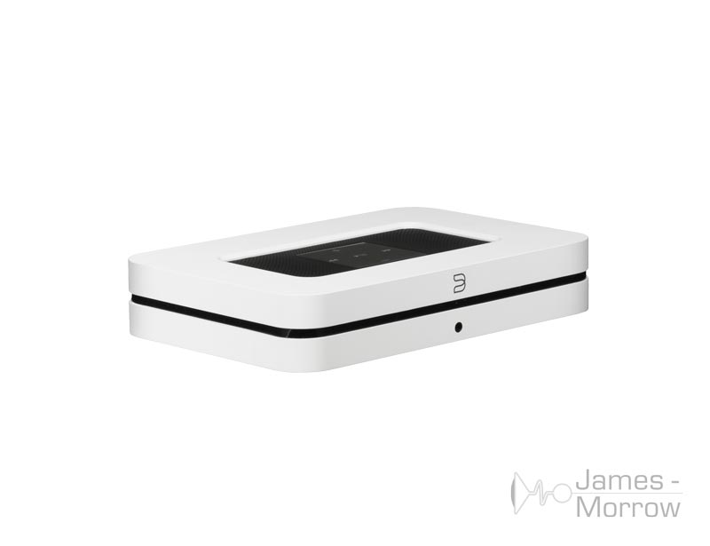 Bluesound Node 2i white front side top product image