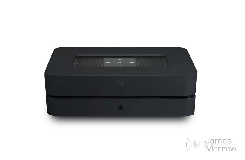 bluesound powernode 2i black front top product image