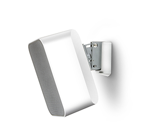 Bluesound Flex white wall bracket side product image