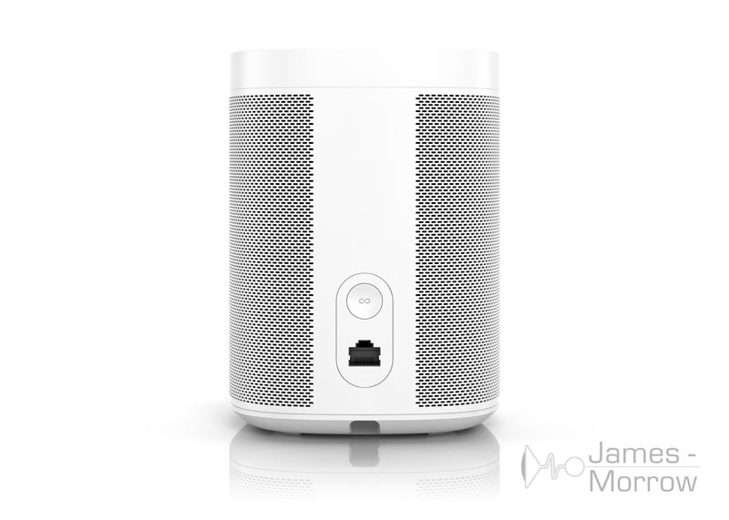 sonos one white rear product image