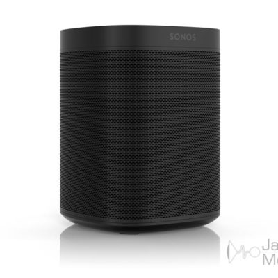 sonos one black front side product image