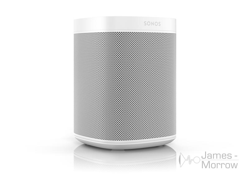 sonos one white front side product image