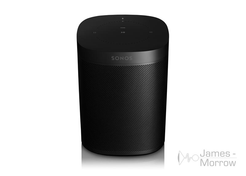 sonos one black front top product image