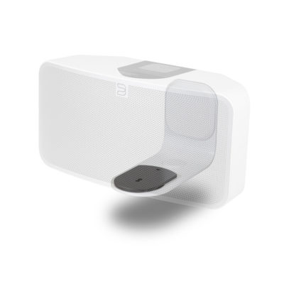 Bluesound Pulse 2 wall bracket front side white product image