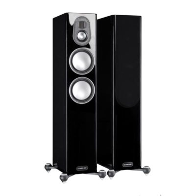 monitor audio gold 200 black pair profile product image