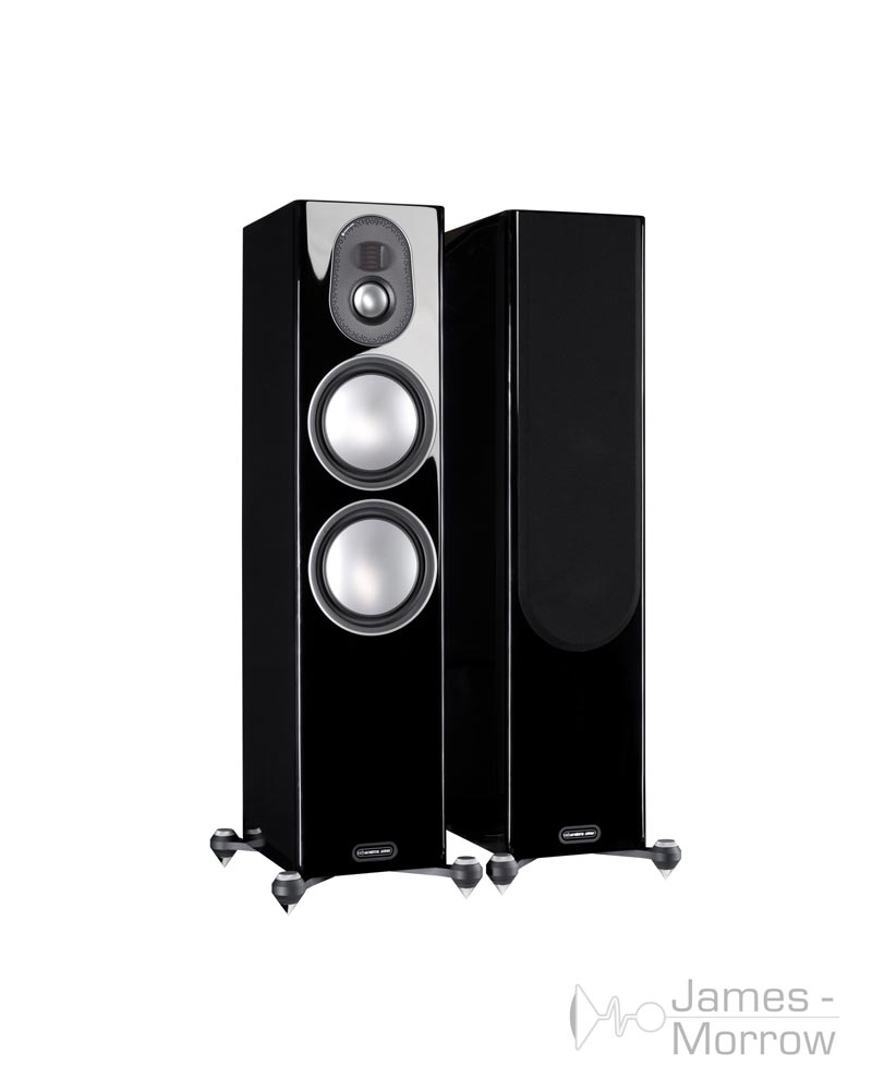 Monitor audio gold 300 pair black profile product image