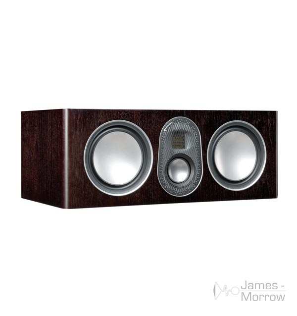 monitor audio gold c250 Walnut no grill profile product iamge
