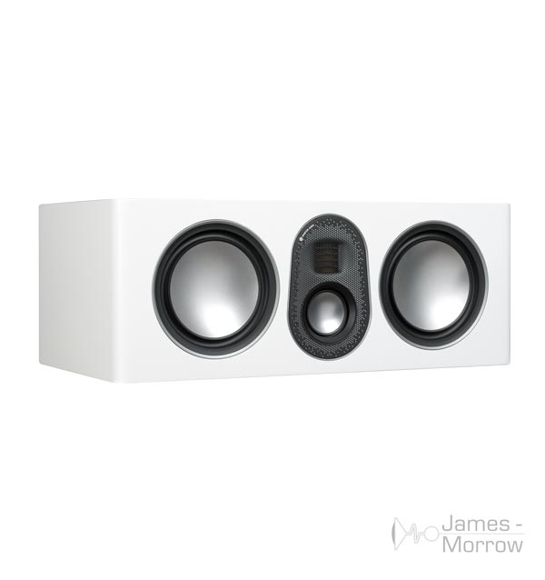monitor audio gold c250 White no grill profile product iamge