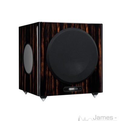 monitor audio gold w12 subwoofer ebony profile product image