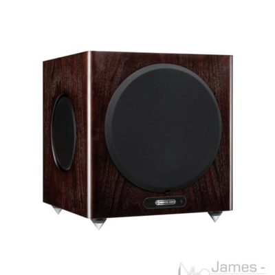 monitor audio gold w12 subwoofer walnut profile product image