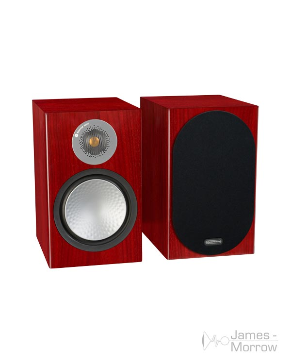 monitor audio silver 100 rosenut pair profile product image