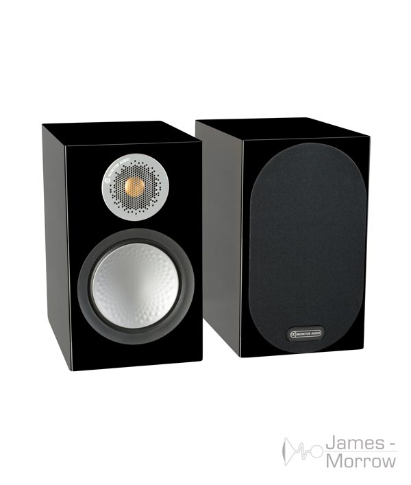 monitor audio silver 50 gloss black pair profile product image
