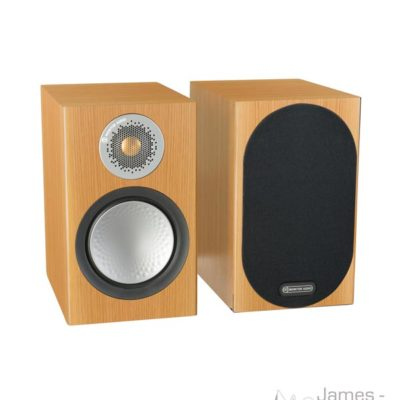 monitor audio silver 50 natural oak pair profile product image