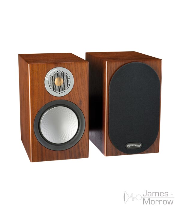 monitor audio silver 50 walnut pair profile product image