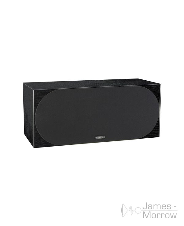 monitor audio silver c350 black oak profile product image with grill