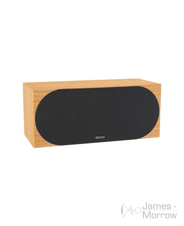 monitor audio silver c350 natural oak profile product image with grill