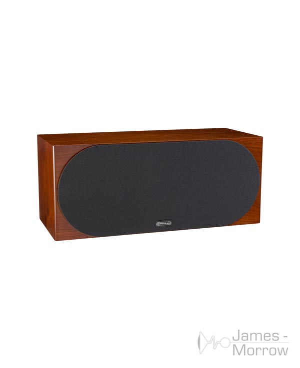 monitor audio silver c350 walnut profile product image with grill