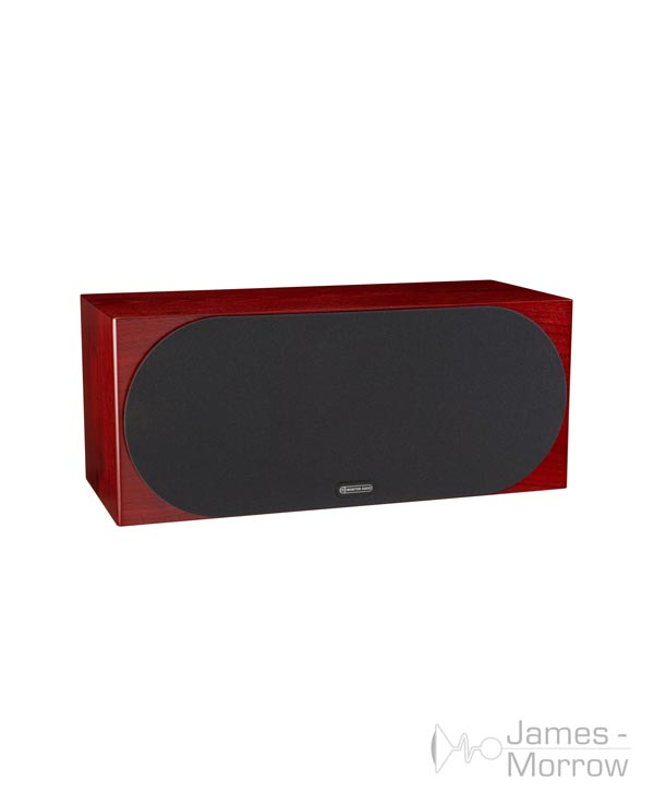 monitor audio silver c350 rosenut profile product image with grill
