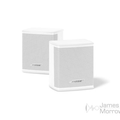 bose surround speaker white angled product image