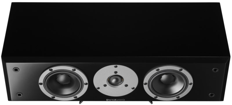 Dynaudio Emite M15c black front elevated product image
