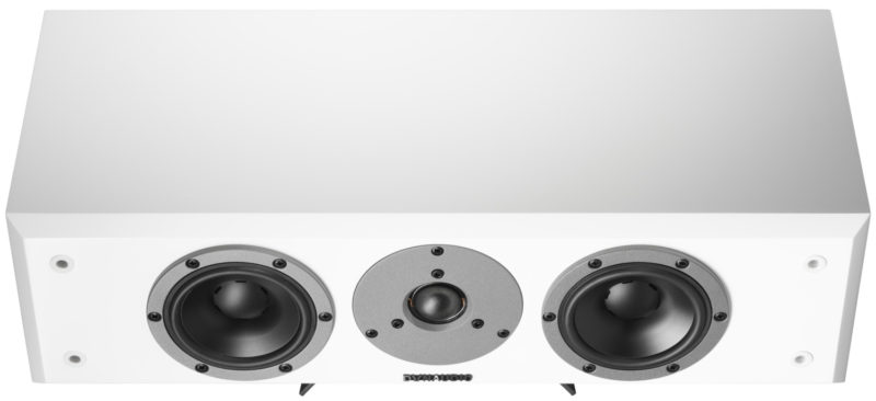 Dynaudio Emite M15c white front elevated product image