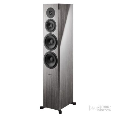Dynaudio Focus 60 XD grey oak front side product image