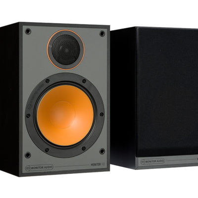 Monitor Audio 100 black front side product image