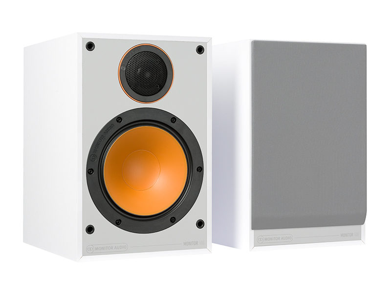 Monitor Audio 100 white front side product image