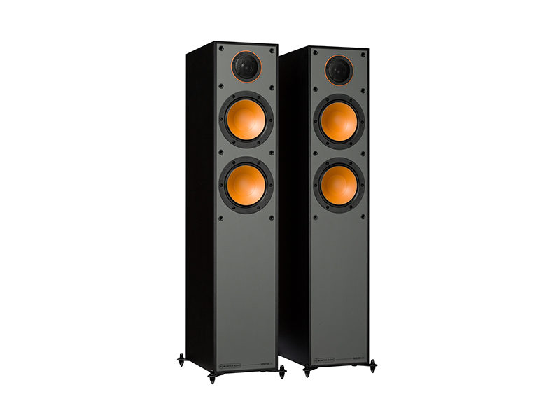 Monitor Audio 200 black front side product image