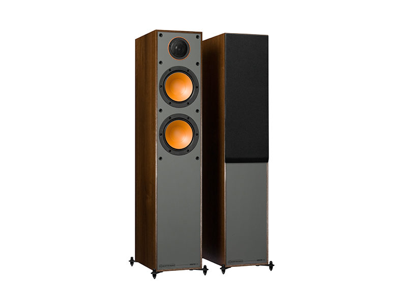 Monitor Audio 200 walnut front side product image