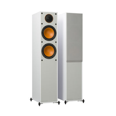 Monitor Audio 200 white front side product image