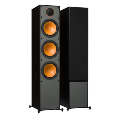 Monitor Audio 300 black front side product image