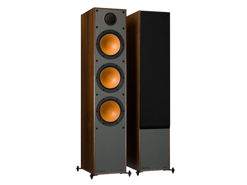 Monitor Audio 300 walnut front side product image
