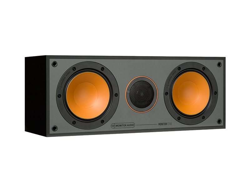 Monitor Audio C150 black front side product image