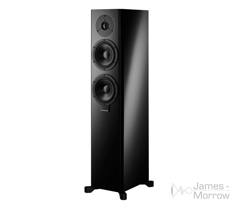 dynaudio xeo 30 black front side product image