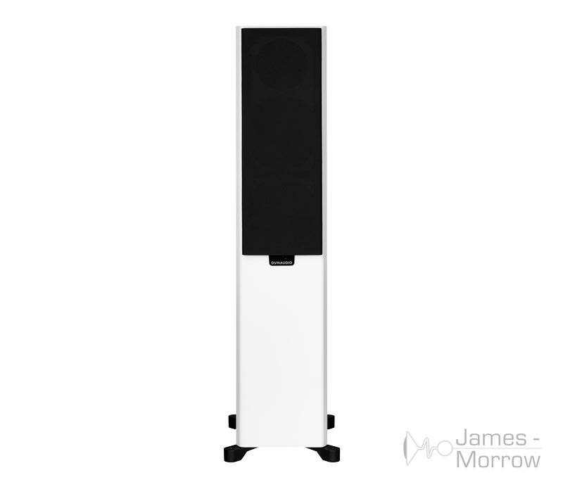 dynaudio xeo 30 white front with grill product image