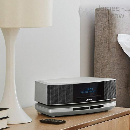 Bose Wave SoundTouch wooden table lifestyle banner image