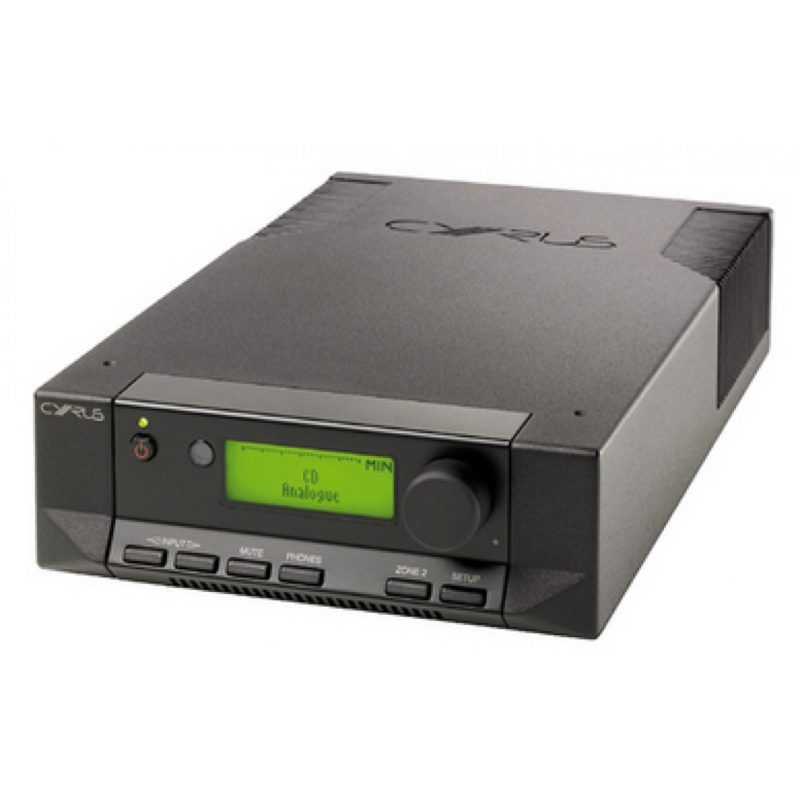 Cyrus 6 Dac black front side elevated product image