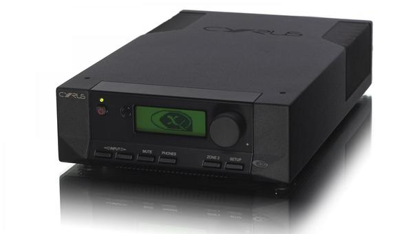 Cyrus 8-DAC QX black front side elevated product image