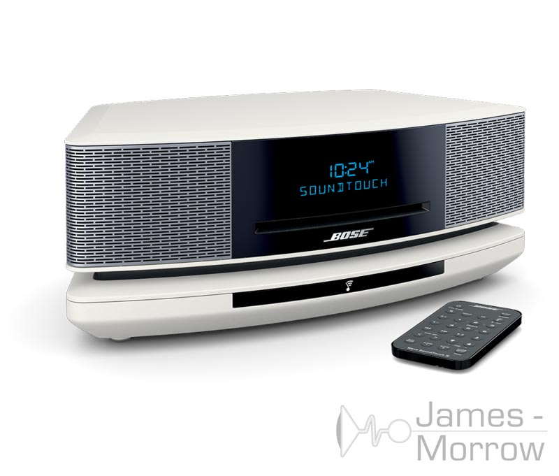 Bose Wave Music System Soundtouch white front side product image