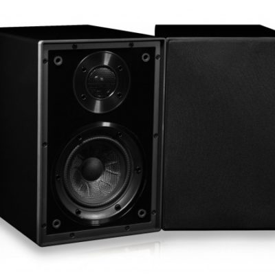 Cyrus one linear speaker black front product image