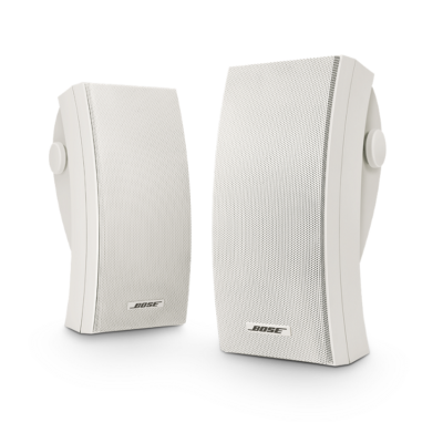 Bose environment outdoor speakers white front product image