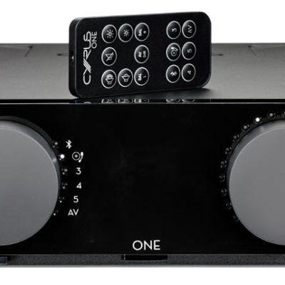 Cyrus one front with remote product image`