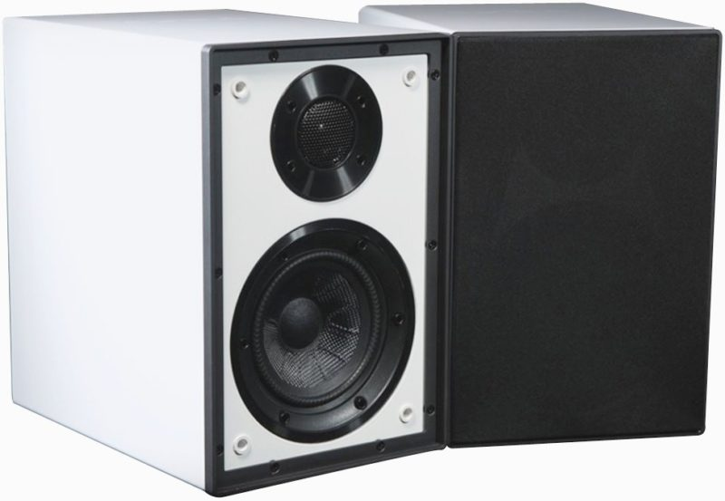Cyrus one linear speaker white front product image