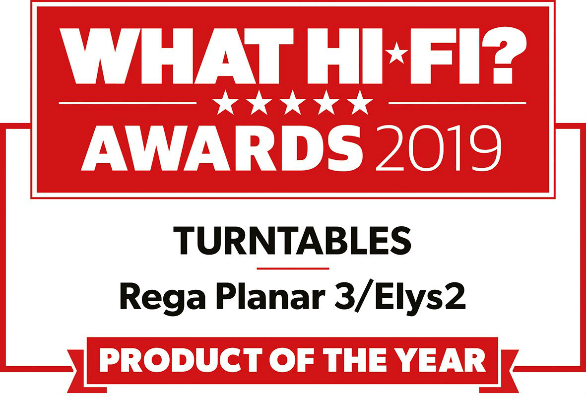 What HiFi product of the year icon