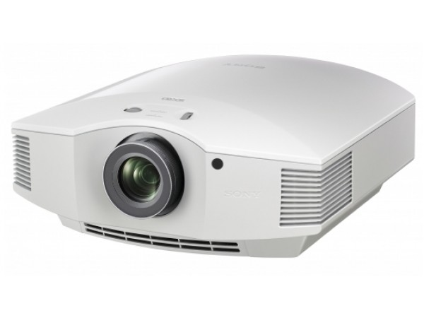 Sony projector white front side elevated product image