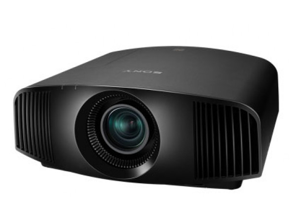 Sony projector black front side elevated product image