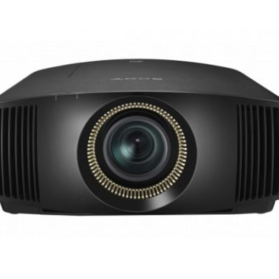 Sony projector black front product image