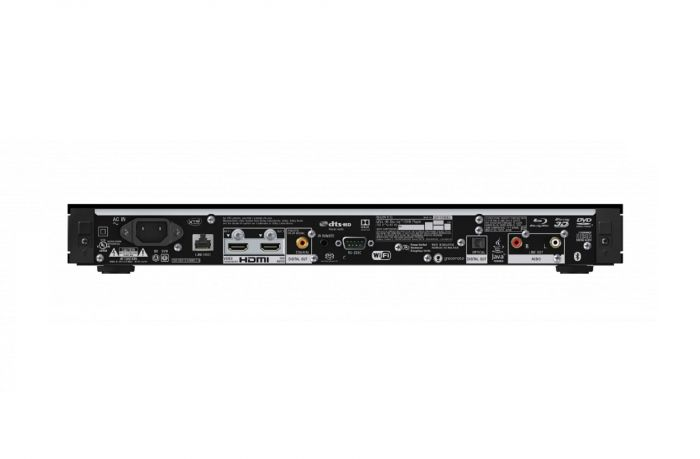 Sony blu-ray player back product image